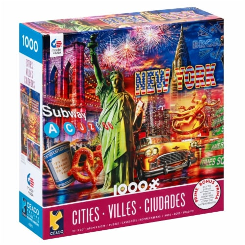 Ceaco Cities Puzzle Perspective: left