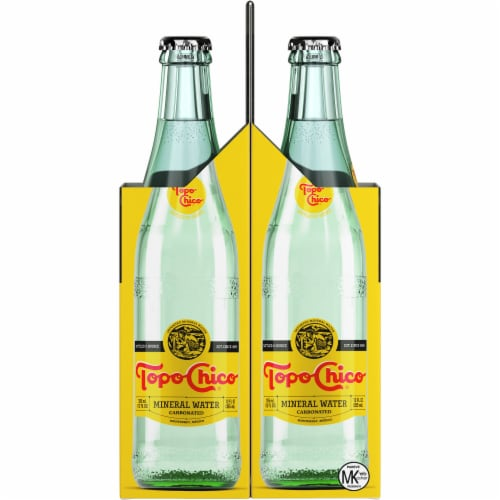 Topo Chico® Mineral Water Perspective: left