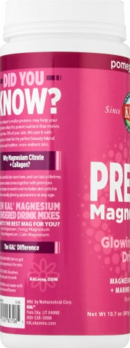 KAL Pretty Magnesium Pomegranate Glowing-Skin Drink Perspective: left
