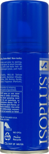 Isoplus Oil Sheen Protective Hair Spray Perspective: left
