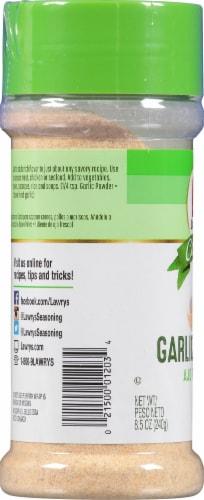 Lawry's Casero Garlic Powder Perspective: left