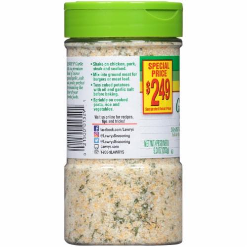 Lawry's Garlic Salt Perspective: left