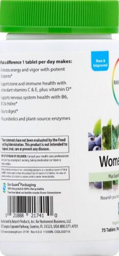 Rainbow Light Women's One Multivitamin Tablets Perspective: left