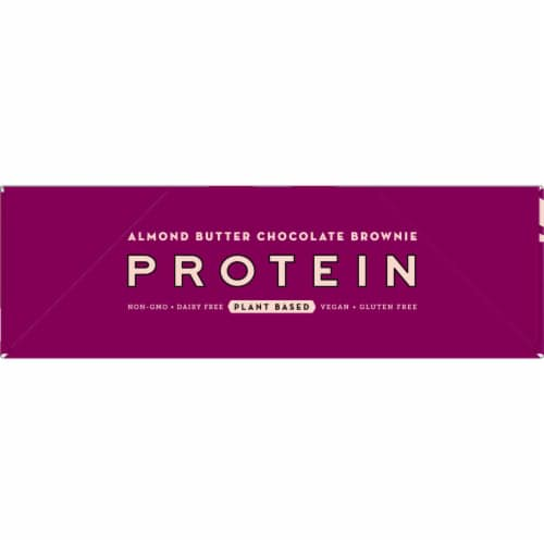 Larabar Almond Butter Chocolate Brownie Protein Bars 12 Count Perspective: left