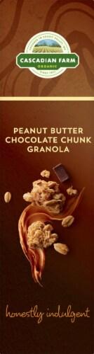 Cascadian Farm Organic Peanut Butter Chocolate Chunk Granola Perspective: left