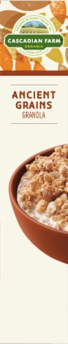 Cascadian Farm Organic Ancient Grains Granola Cereal Perspective: left