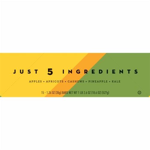 Larabar Fruits + Greens Pineapple Kale Cashew Fruit & Nut Bars 15 Count Perspective: left