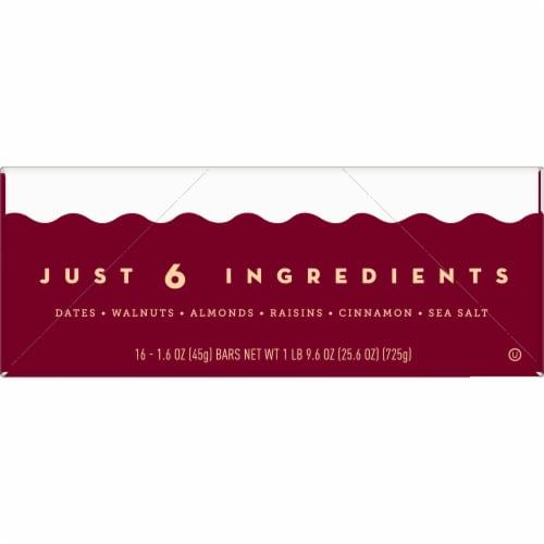 Larabar Cinnamon Roll Fruit & Nut Bars Perspective: left