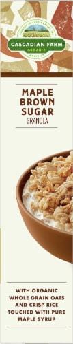 Cascadian Farm Organic Maple Brown Sugar Granola Perspective: left