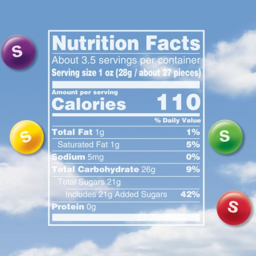 Skittles Original Chewy Candy Theater Box Perspective: left