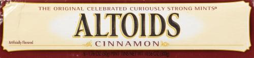Altoids Cinnamon Breath Mints Perspective: left