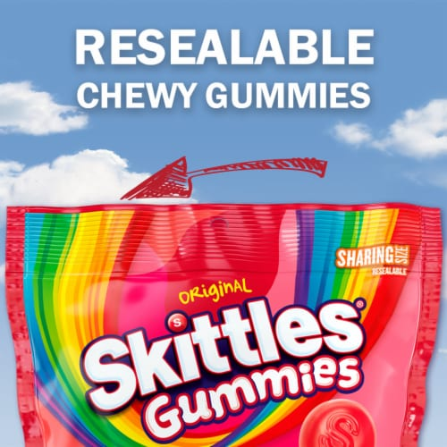 Skittles® Gummies Sharing Size Perspective: left