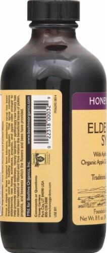 Honey Gardens Traditional Immune Formula Elderberry Syrup Perspective: left