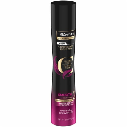 TRESemme Compressed Smooth Level 2 Hold Hair Spray Perspective: left