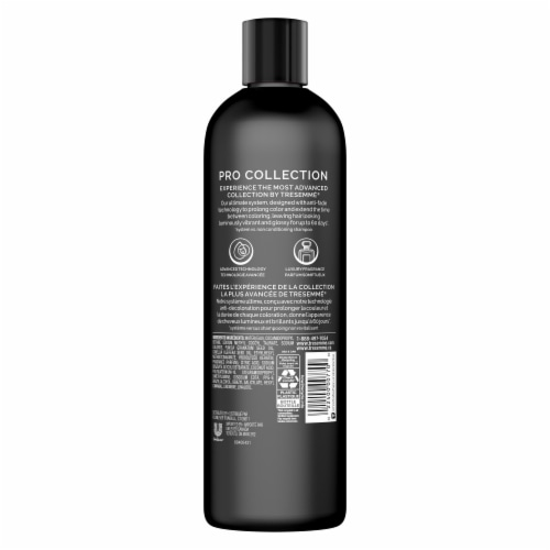 TRESemme Keratin Smooth Color Shampoo Perspective: left