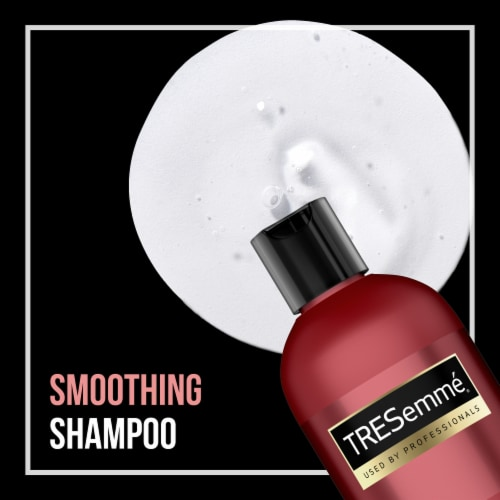 TRESemme Keratin Smooth Shampoo Perspective: left