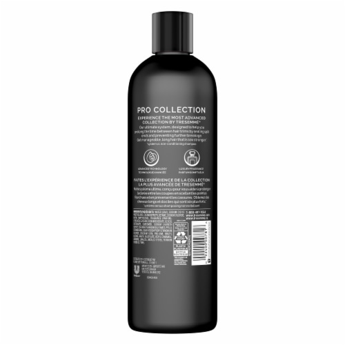 TRESemme Pro Advanced Max Lengths Shampoo Perspective: left
