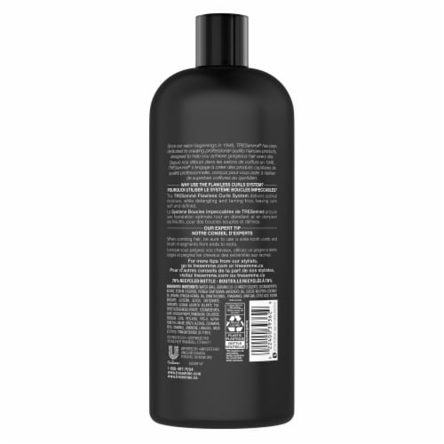 TRESemme Flawless Curls Hydrating Shampoo Perspective: left