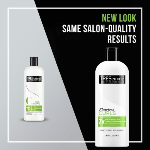 TRESemmé® Flawless Curls Hydrating Conditioner for Curly Hair Perspective: left