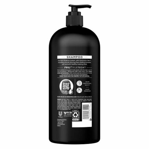 TRESemmeMoisture Rich Shampoo Perspective: left