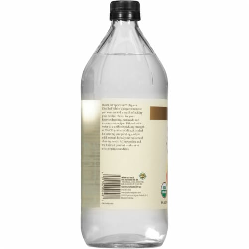 Spectrum Organic White Vinegar Perspective: left