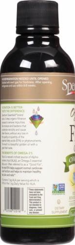 Spectrum Essentials Organic Flax Oil Perspective: left