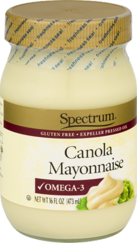 Spectrum Canola Mayonnaise Perspective: left