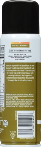 Spectrum Culinary Organic Olive Oil Non-Stick Cooking Spray Perspective: left