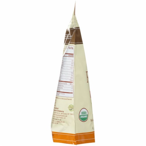 Spectrum Essentials Organic Ground Flaxseed with Omega-3 & Lignans Perspective: left
