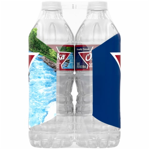 Ozarka Natural Spring Bottled Water Perspective: left
