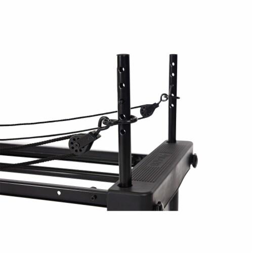 Stamina 55-4651 AeroPilates Reformer 651 Whole Body Resistance Workout System Perspective: left