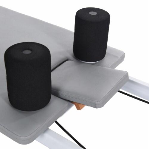Stamina 55-5535 AeroPilates Precision Series Reformer Resistance Workout System Perspective: left