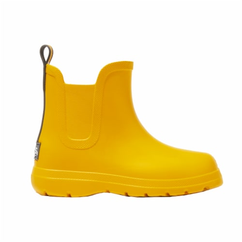 Totes® Kid's Chelsea Short Rain Boots - School Bus Perspective: left