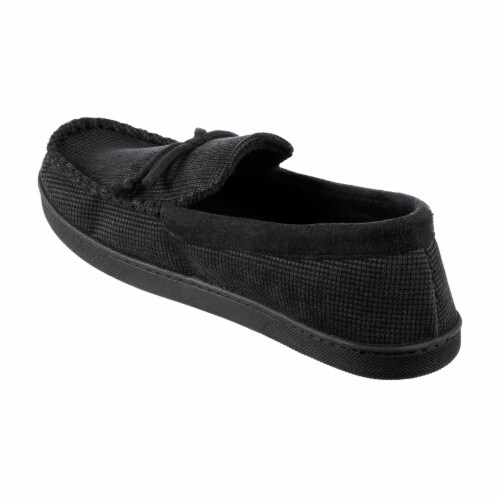 Totes Mini Box Cord Luke Moccasin with Lacing Perspective: left