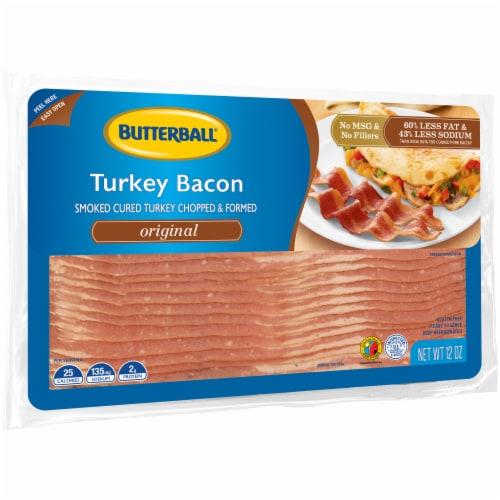 Butterball Original Turkey Bacon Perspective: left
