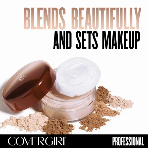 CoverGirl Professional Loose Honey Powder Perspective: left