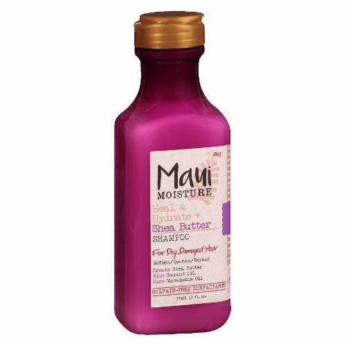 Maui Moisture Heal & Hydrate + Shea Butter Shampoo Perspective: left