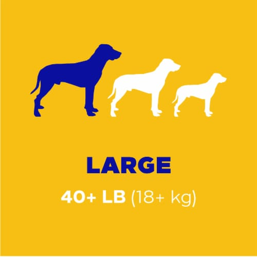 Pedigree Dentastix Triple Action Fresh Large Dog Treats Perspective: left
