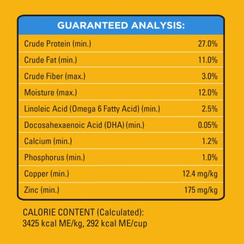 Pedigree Puppy Growth & Protection Chicken & Vegetable Flavor Dry Dog Food Perspective: left