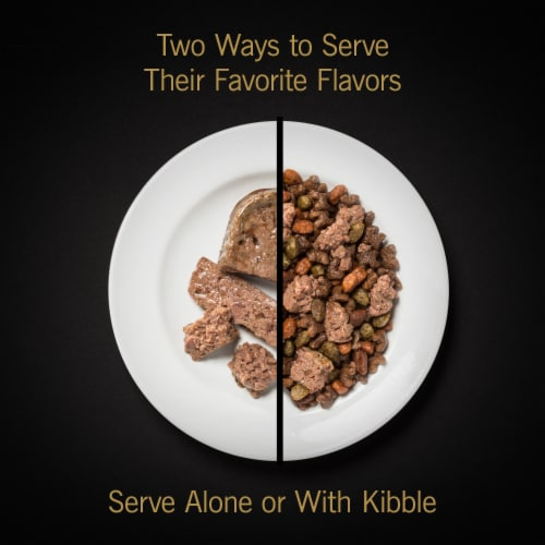 Cesar Breakfast & Dinner Wet Dog Food Variety Pack Perspective: left