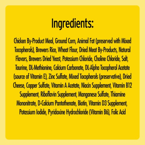 Temptations Tasty Chicken Flavor Cat Treats Perspective: left