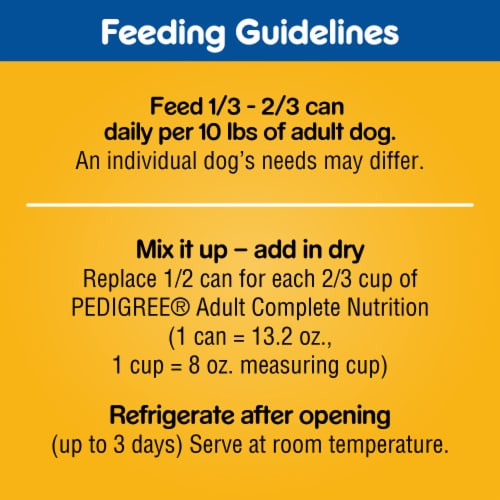 Pedigree Chopped Ground Dinner Filet Mignon & Beef Flavor Wet Dog Food Variety Pack Perspective: left