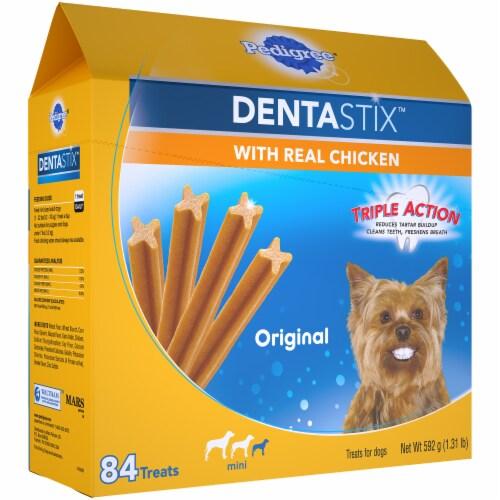 Pedigree Dentastix Original Mini Dog Treats Perspective: left