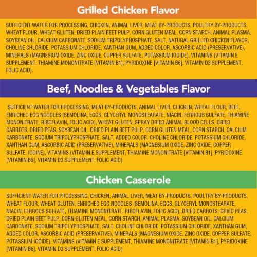 Pedigree Choice Cuts in Gravy Wet Dog Food Variety Pack Perspective: left