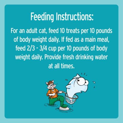 Temptations Jumbo Stuff Tempting Tuna Flavor Cat Treats Value Size Perspective: left