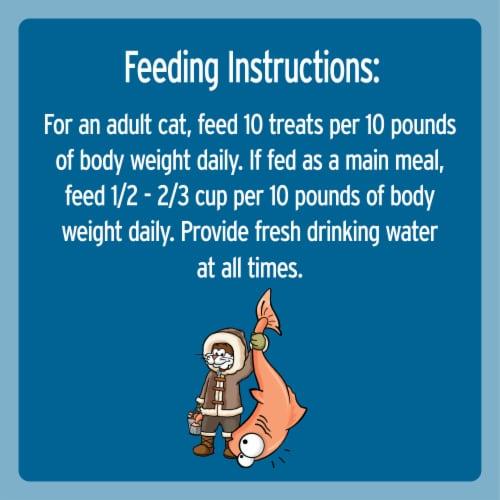 Temptations Jumbo Stuff Savory Salmon Flavor Cat Treats Perspective: left