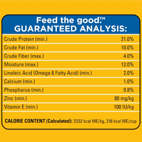 Pedigree® With Tender Bites Chicken & Steak Flavored Two Texture Adult Dry Dog Food Perspective: left