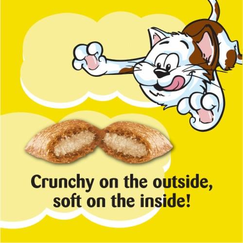 Temptations Tempting Tuna Flavor Cat Treats Perspective: left