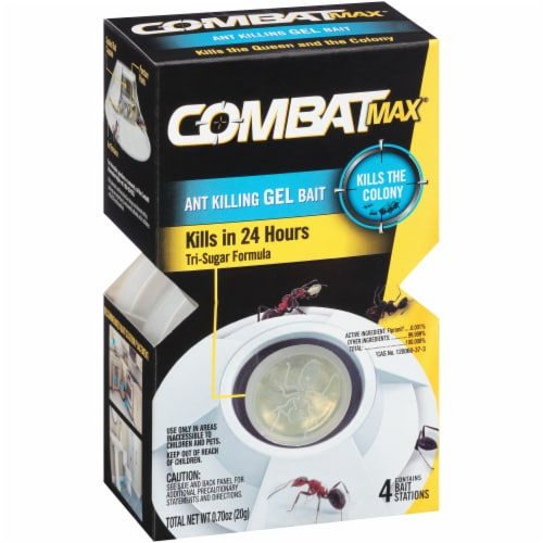 Combat® Max Ant Killing Gel Bait - White Perspective: left