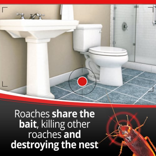 Combat® Max Quick Kill Small Roach Bait Stations Perspective: left